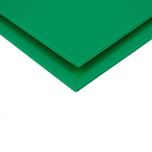Green Telbex Pressed PVC Sheet Wall Cladding