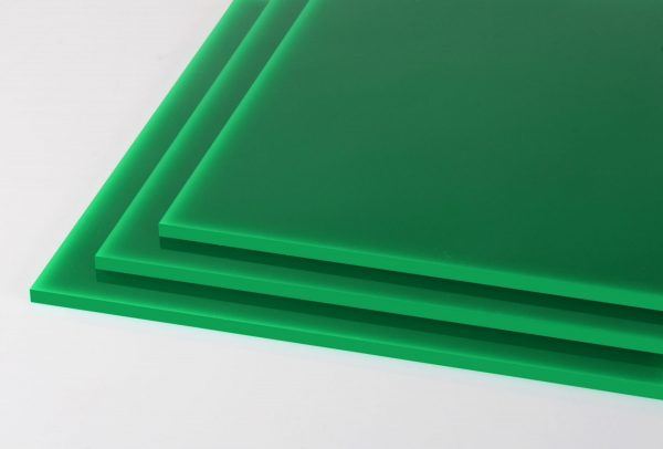 100% Recycled Green 'Greencast' Acrylic Sheet (Gloss Finish)