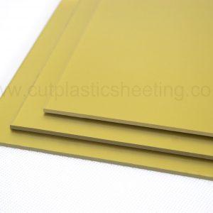 Gold Metallic Gloss Acrylic Sheet