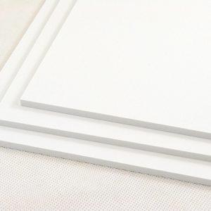 White Standard Foamex PVC Foam Board (Matte Finish)