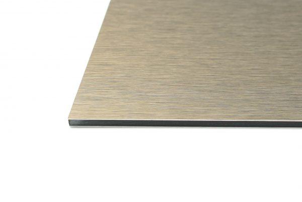 Gun Metal Grey Brushed Aluminium Composite Panel