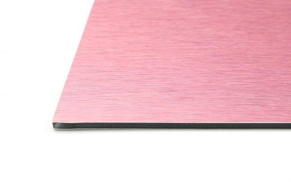 Pink Brushed Aluminium Composite Panel