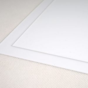 Axpet Translucent White Polyester Sheet