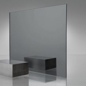 Smoked Grey Acrylic Mirror Sheet