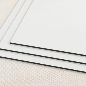 White Dibond FR Fire Retardant Aluminium Composite Panel