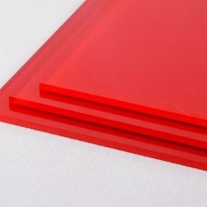 Red High Gloss Acrylic Sheet