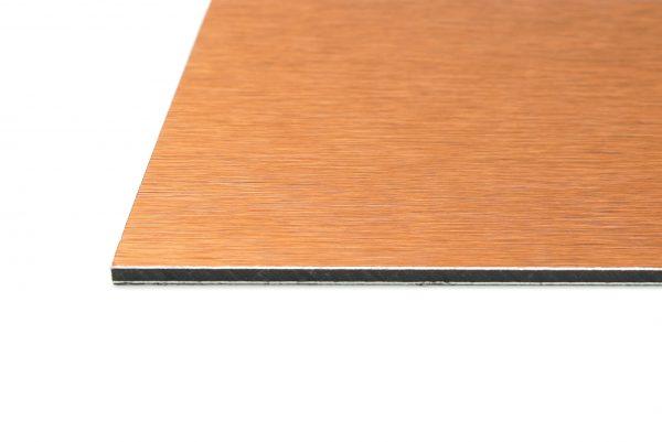 Light Bronze Brushed Aluminium Composite Panel