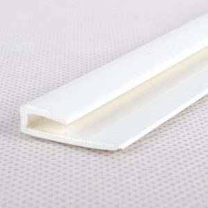 8ft White Edge Capping Strip for Wall Cladding