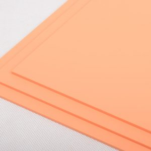 Perspex® Sweet Pastels Orange Fizz Acrylic Sheet