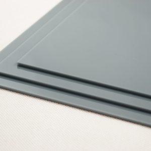 Grey Acrylic Kitchen Splashback (Gloss Finish)