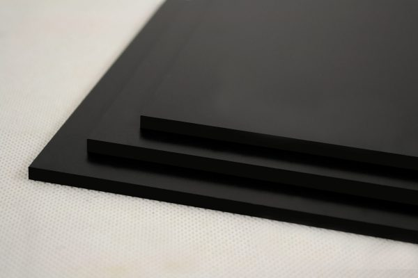 Black Foamex PVC Foam Board (Matte Finish)