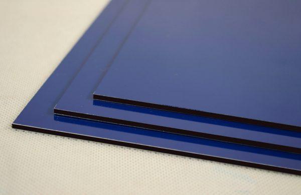Blue Dibond Aluminium Composite Panel