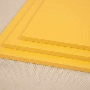 Yellow Foamex PVC Foam Board (Matte Finish)