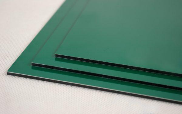 Green Dibond Aluminium Composite Panel