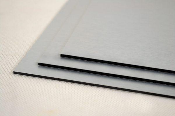 Brushed Aluminium (Silver Butler) Composite Panel