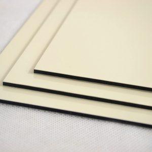 Cream Dibond Aluminium Composite Panel