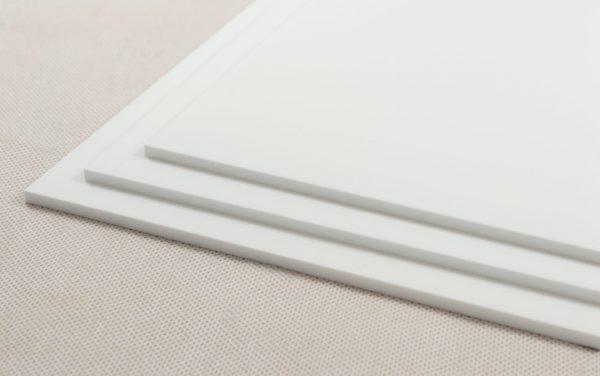 Perspex® Naturals Moonlight White Acrylic Sheet (Matte Finish)
