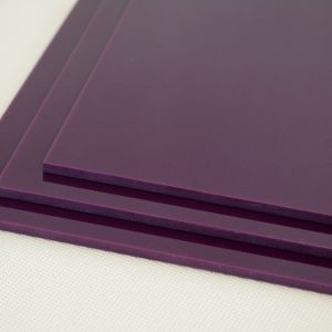 Aubergine Purple Acrylic Sheet (Gloss Finish)