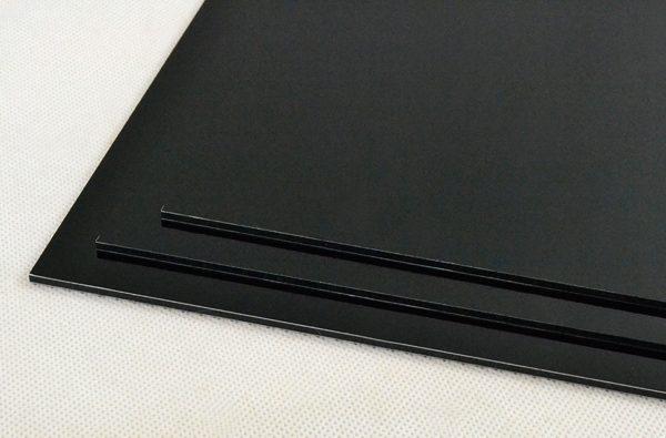 Black Dibond Aluminium Composite Panel