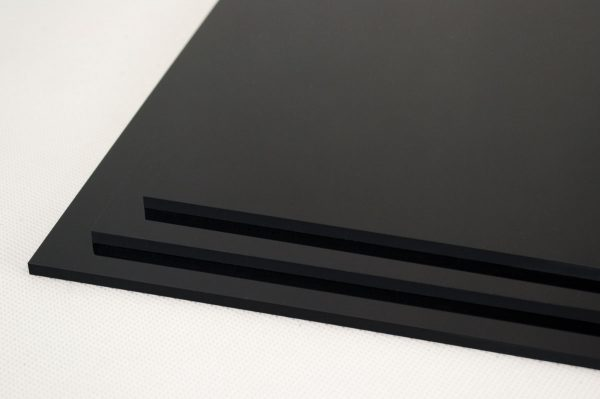 Black Extruded Perspex® Acrylic Discs (Gloss Finish)