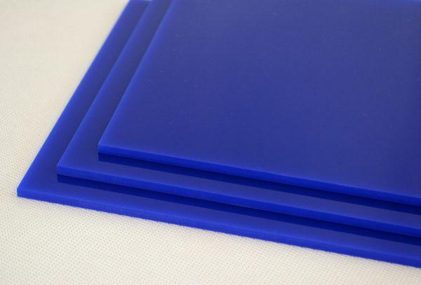 Blue Cast Acrylic Discs (Gloss Finish)