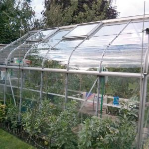 Clear Acrylic Greenhouse Panel   610 x 610mm (24 x 24″)