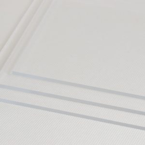 Clear Perspex® Extruded Acrylic Discs