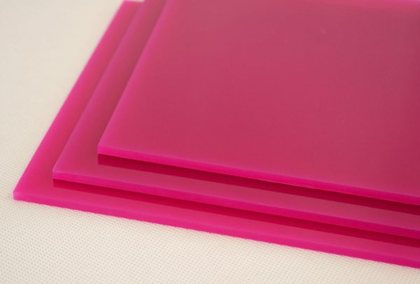 Magenta Pink Cast Acrylic Discs (Gloss Finish)