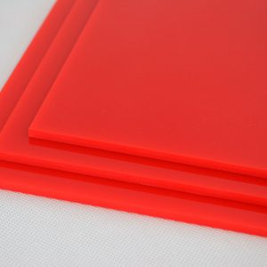 Red Cast Acrylic Discs (Gloss Finish)