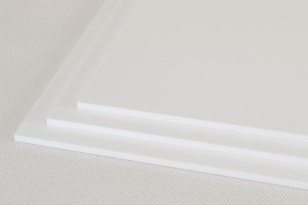 White Extruded Acrylic Discs (Gloss Finish)