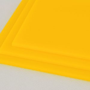 Yellow Acrylic Sheet (Gloss Finish)