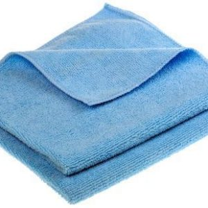 5 x Microfibre Cleaning Cloths – Blue