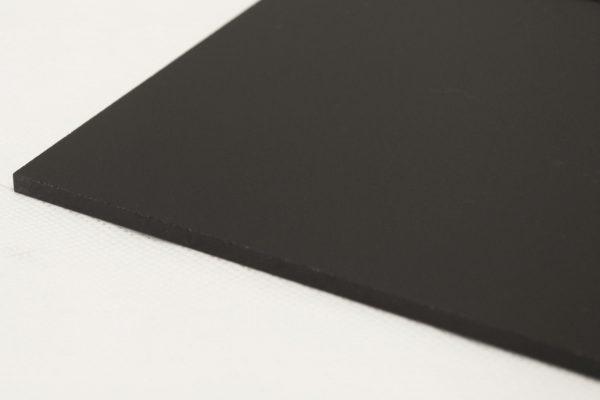 Perspex® Naturals Midnight Black Acrylic Sheet (Matte Finish)
